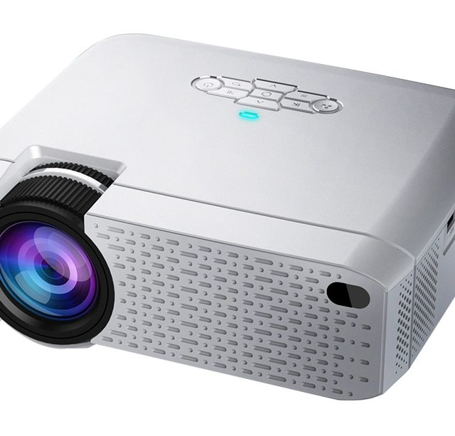 Compact LED WiFi Projector