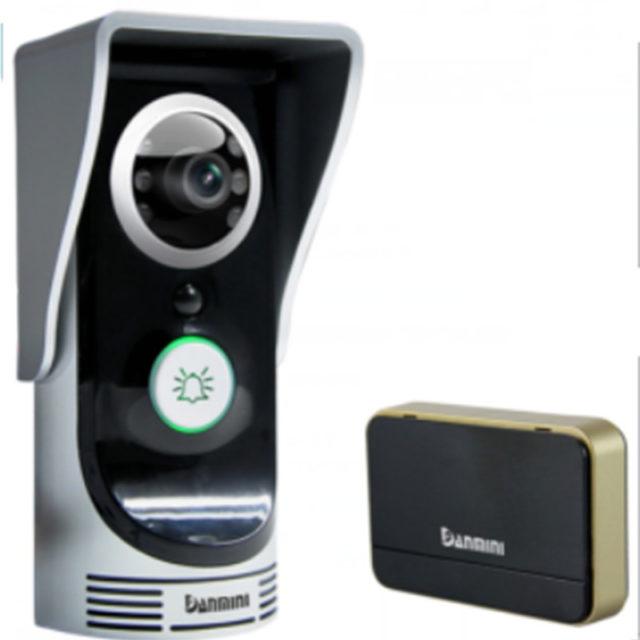 Wireless IP Video Doorbell