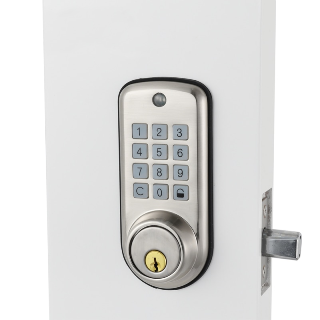 Waterproof Digital Door Lock with Key