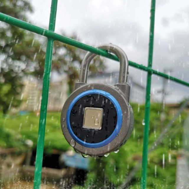 USB Rechargeable Waterproof Smart Lock