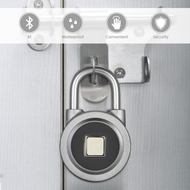 Anti-Theft Smart Keyless Lock