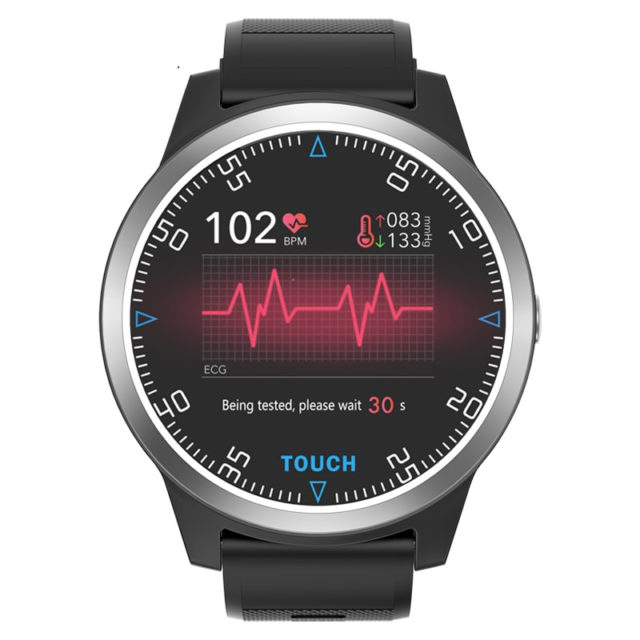 Men's Sport Smart Watch with Blood Pressure Monitor