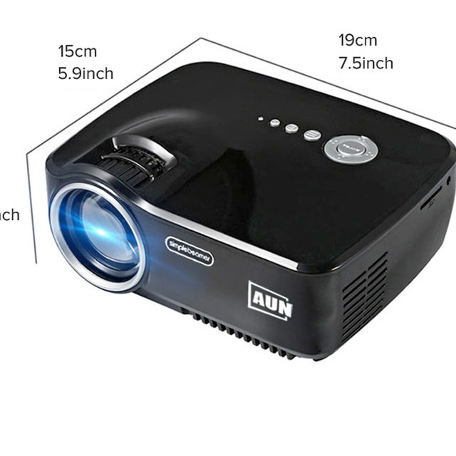Lightweight Multimedia Entertainment Projector For Home Theatre