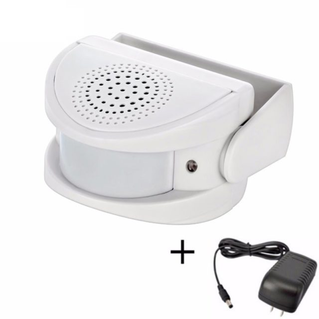 Wireless IR Motion Sensor Doorbell and Alarm