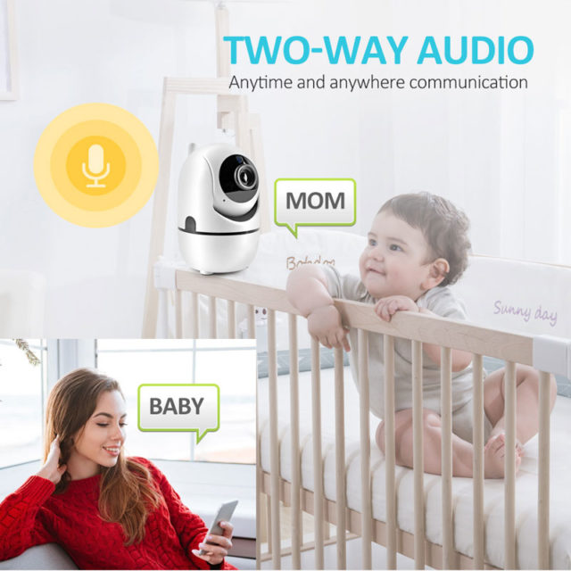 Wireless Baby Monitor with Two-Way Audio