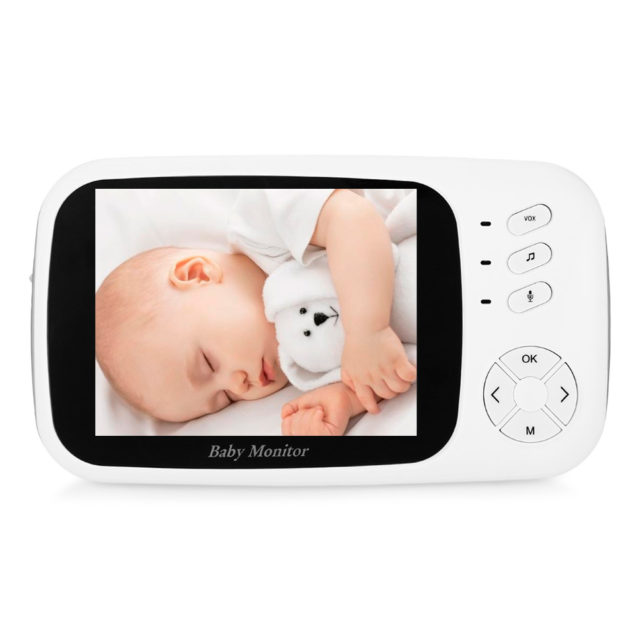 Portable Infrared Baby Monitor with LCD Dispay